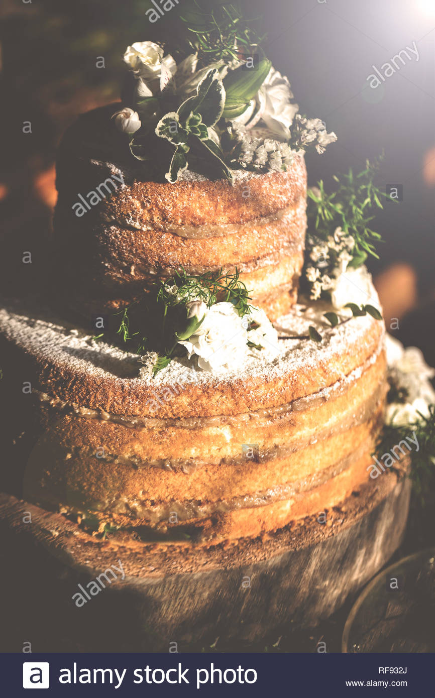 Real Photos Of Rustic And Modern Wedding Cakes For Brides Stock