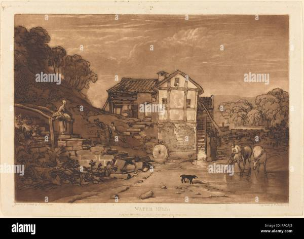 Water Drawing Mill Stock &