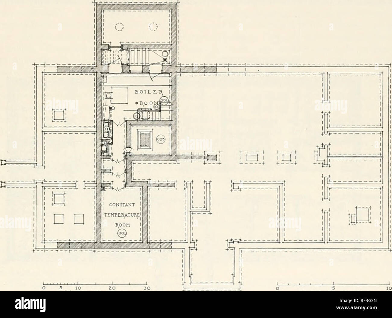 hight resolution of carnegie institution of washington publication research buildings 193 the pinnibing arrmxgements are exceptionally complete