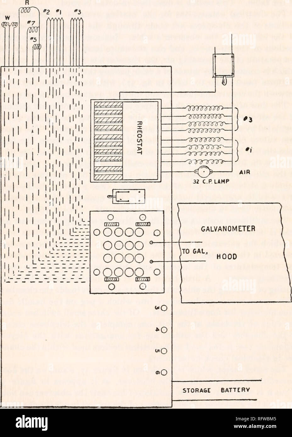 medium resolution of carnegie institution of washington publication 133 a respiration calorimeter electrical connections on the