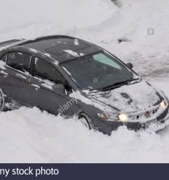 gray honda car rears in the parking lot [ 1300 x 957 Pixel ]
