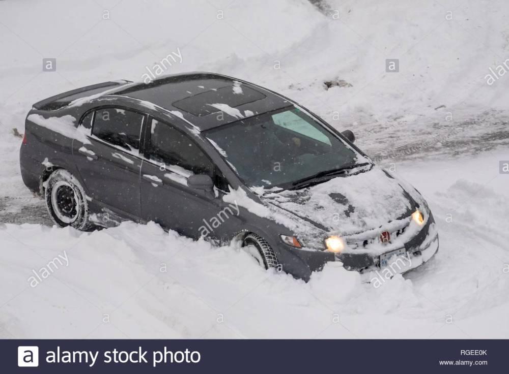 medium resolution of gray honda car rears in the parking lot