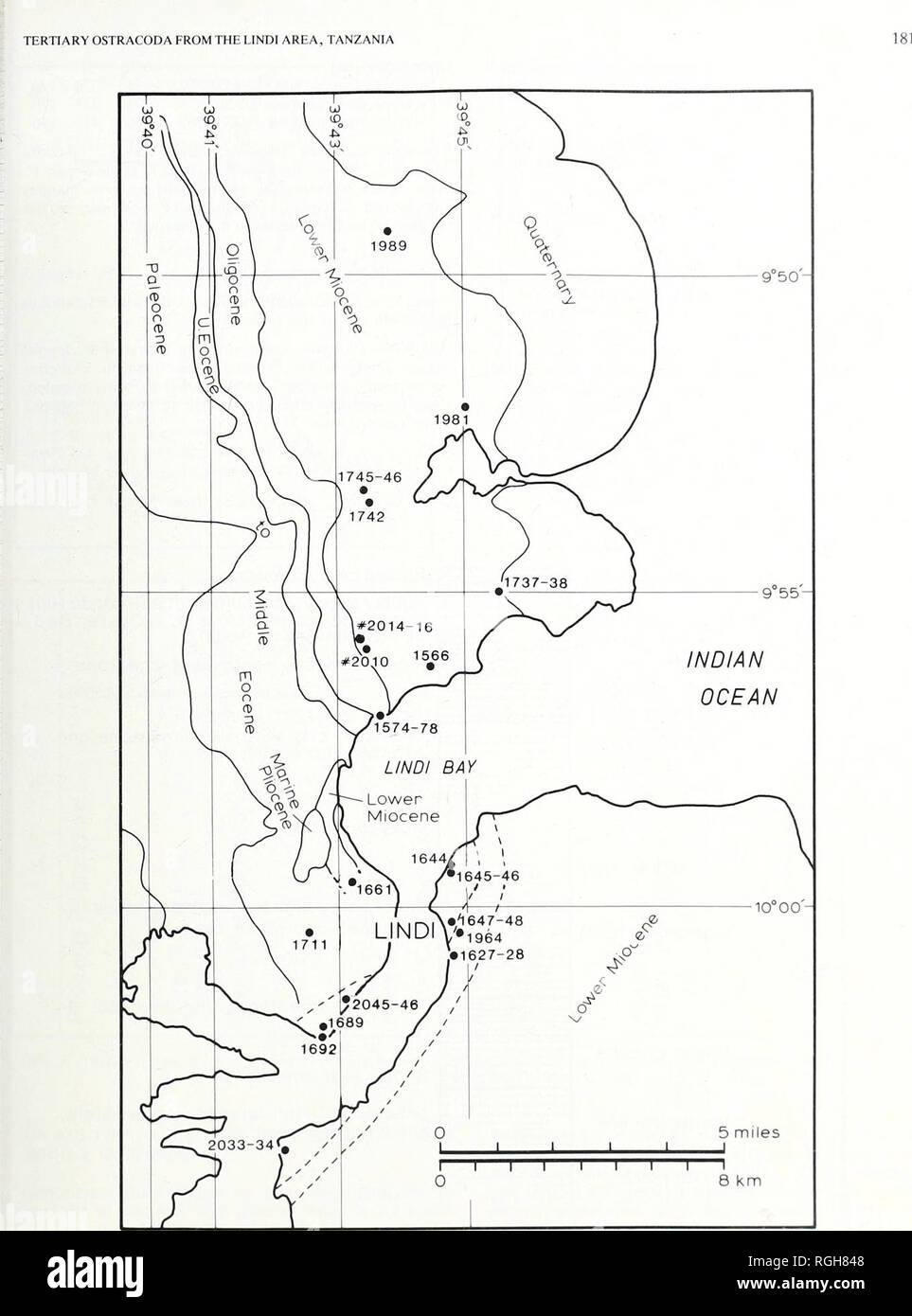 medium resolution of geology fig 3 sample location map i indi tanzania approx position only k rm 1 3 lies off the south cast corner ot the map