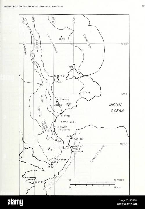 small resolution of geology fig 3 sample location map i indi tanzania approx position only k rm 1 3 lies off the south cast corner ot the map