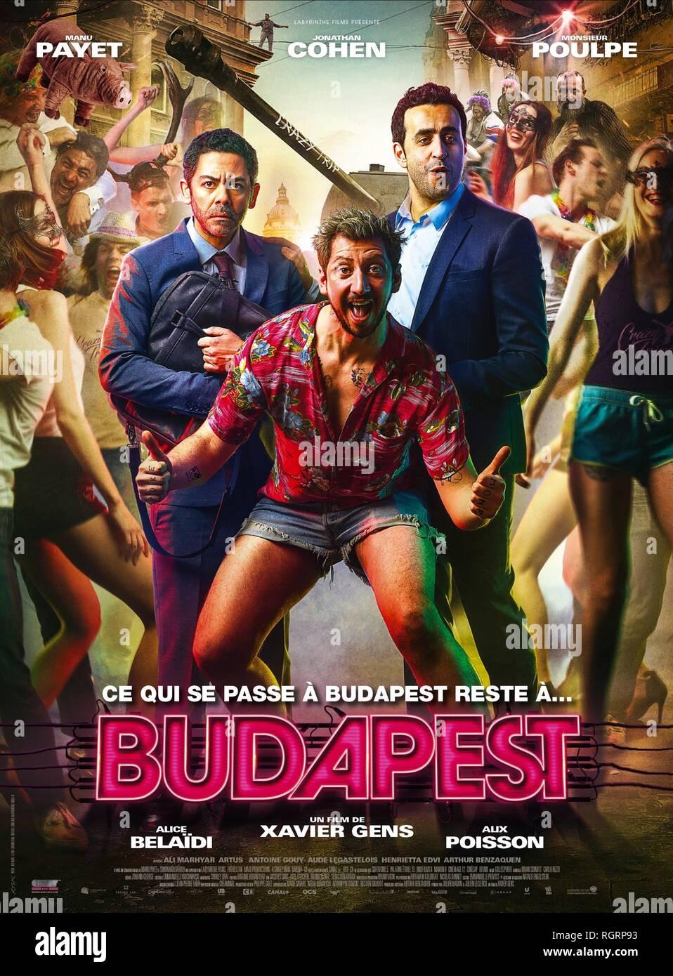 Le Poulpe (film) : poulpe, (film), PAYET,, MONSIEUR, POULPE,, JONATHAN, COHEN, POSTER,, BUDAPEST,, Stock, Photo, Alamy