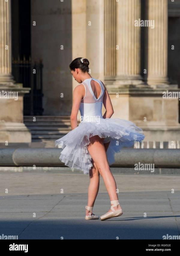 Paris Ballet Dancer Stock &