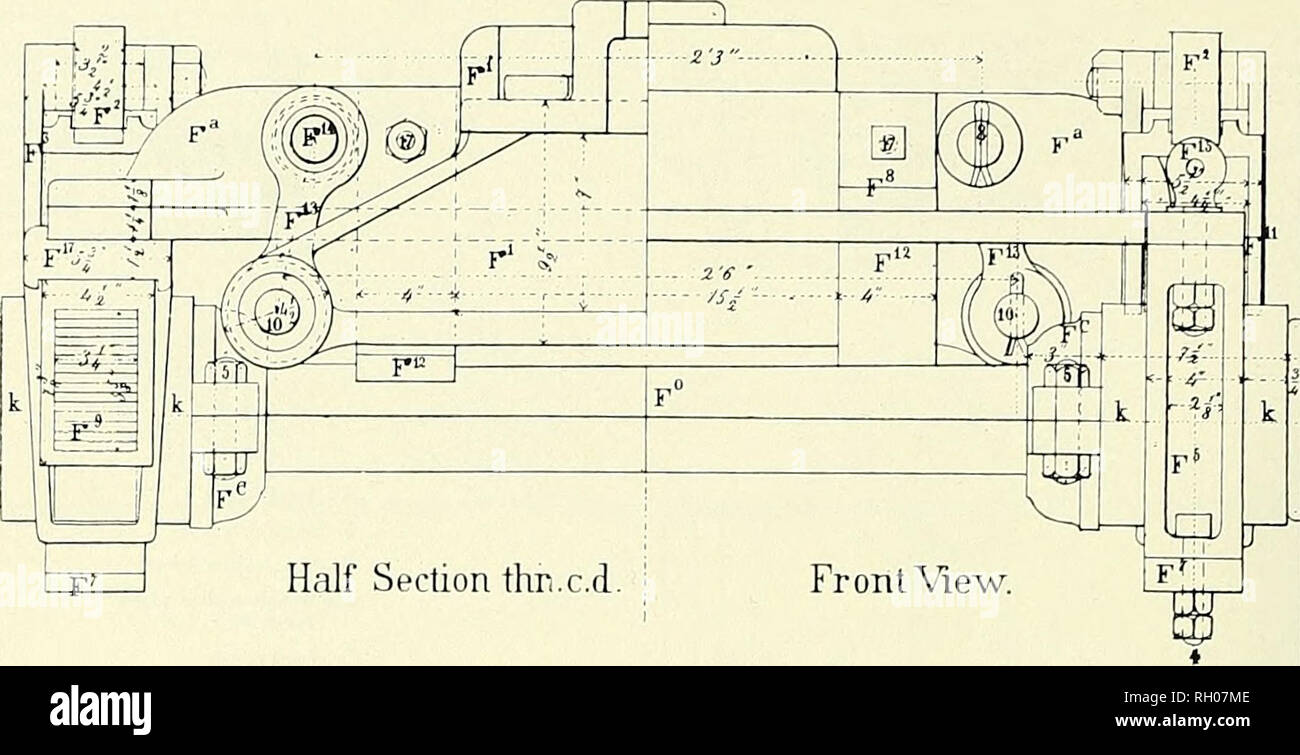 hight resolution of a 4 wheel safety truck fitted with a f smith s swing bolter centering device built by the hinkley locomotive works from gustavus weissenborn american