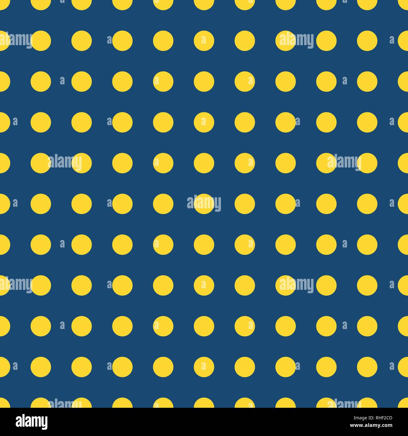 pics Blue Yellow Polka Dots https www alamy com blue vector seamless pattern with yellow polka dots vintage style background image234515133 html