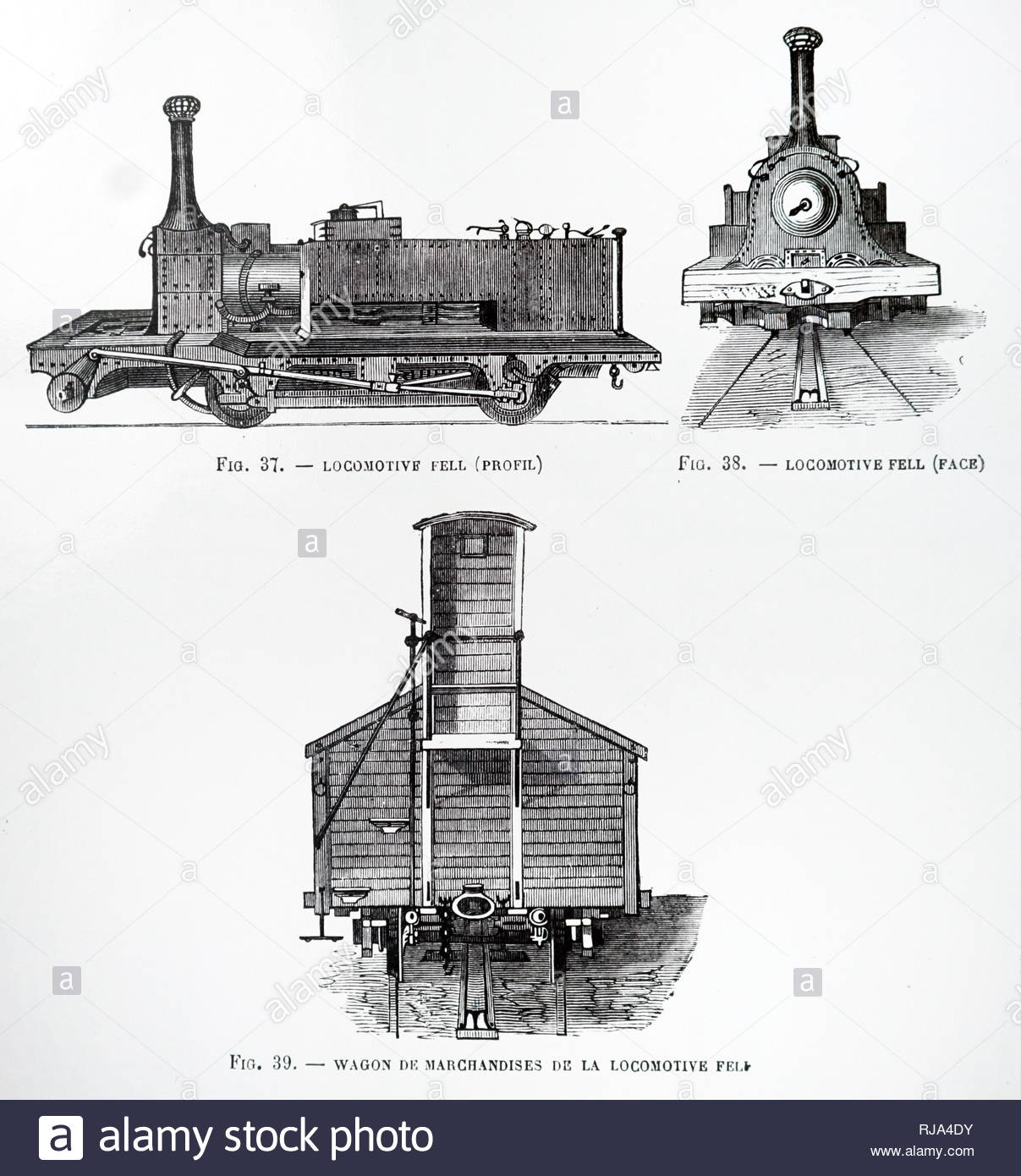 hight resolution of engraving depicting a british rail 10100 an unusual experimental diesel locomotive known informally as the fell diesel locomotive dated 19th century
