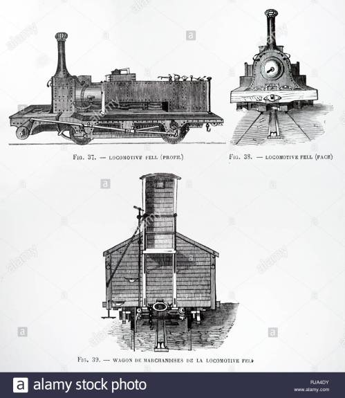 small resolution of engraving depicting a british rail 10100 an unusual experimental diesel locomotive known informally as the fell diesel locomotive dated 19th century