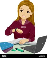 Student Studying Cartoon High Resolution Stock Photography and Images Alamy