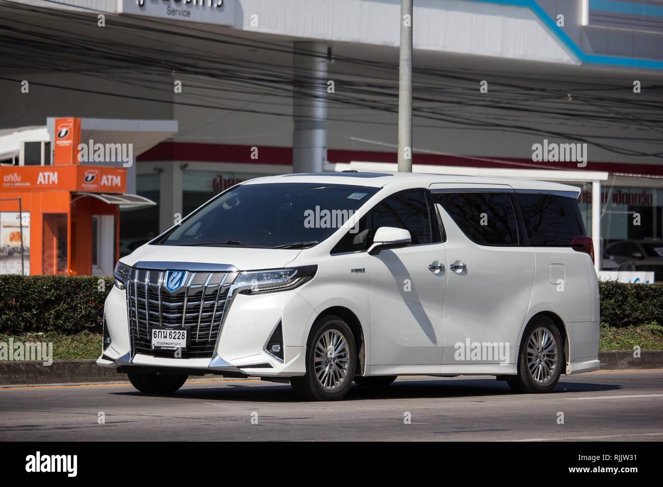 all new alphard 2019 harga yaris trd sportivo 2017 stock photos images alamy chiangmai thailand january 14 private toyota luxury van photo at