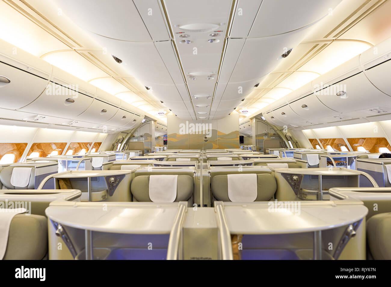 Interieur Airbus A380 Emirates Emirates Executive Jet