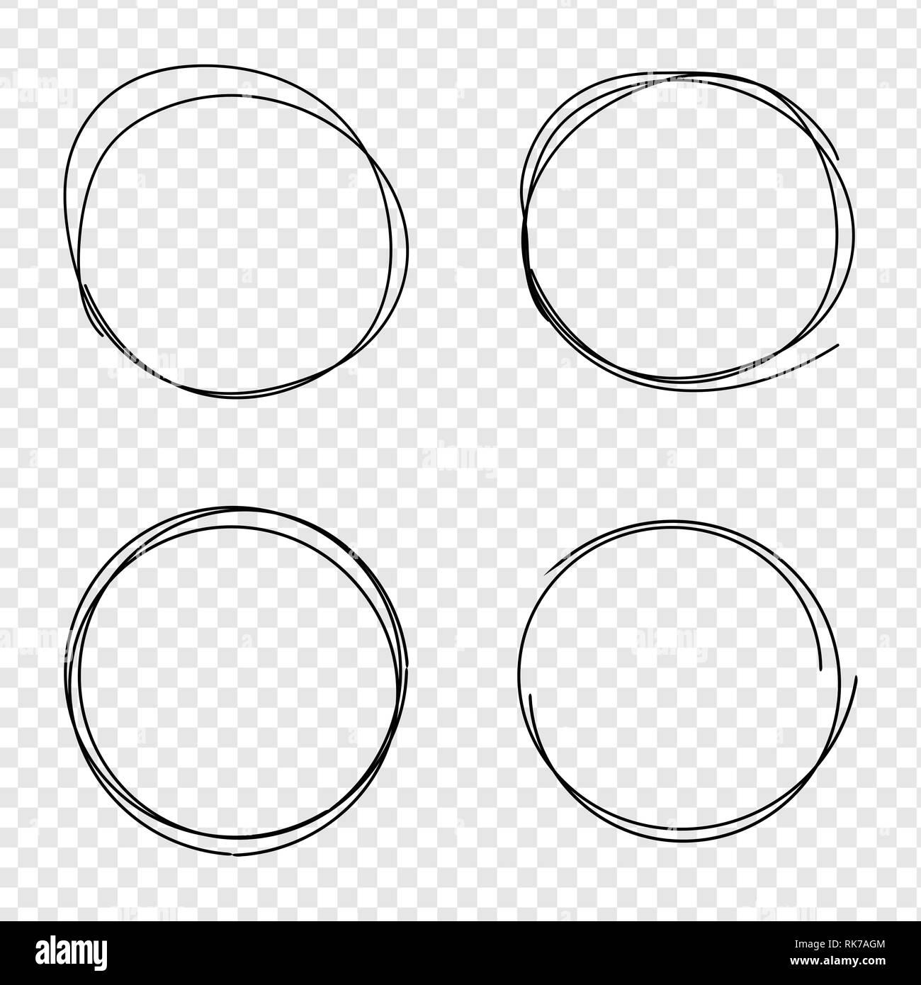 set of vector hand