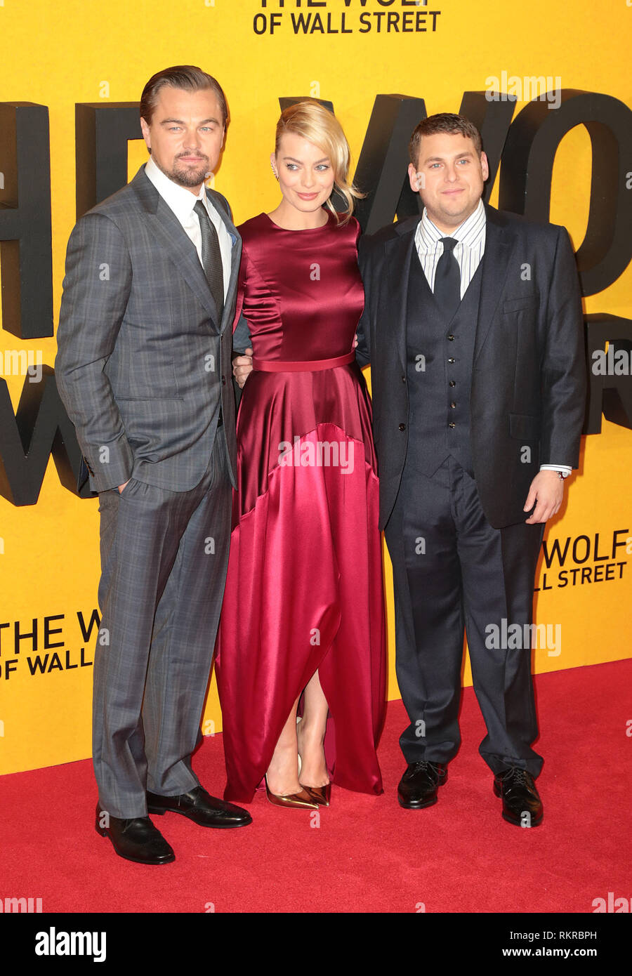 The Wolf Of Wall Street Vo : street, Street, Margot, Robbie, Resolution, Stock, Photography, Images, Alamy