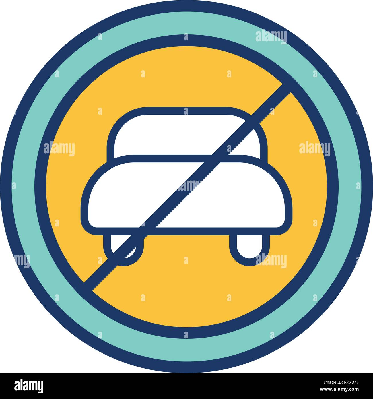 hight resolution of vector no entry for motor vehicle icon sign icon vector illustration for personal and commercial use