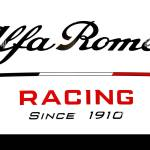 A View Of The Alfa Romeo Logo During Day Two Of Pre Season Testing At The Circuit De Barcelona Catalunya Stock Photo Alamy
