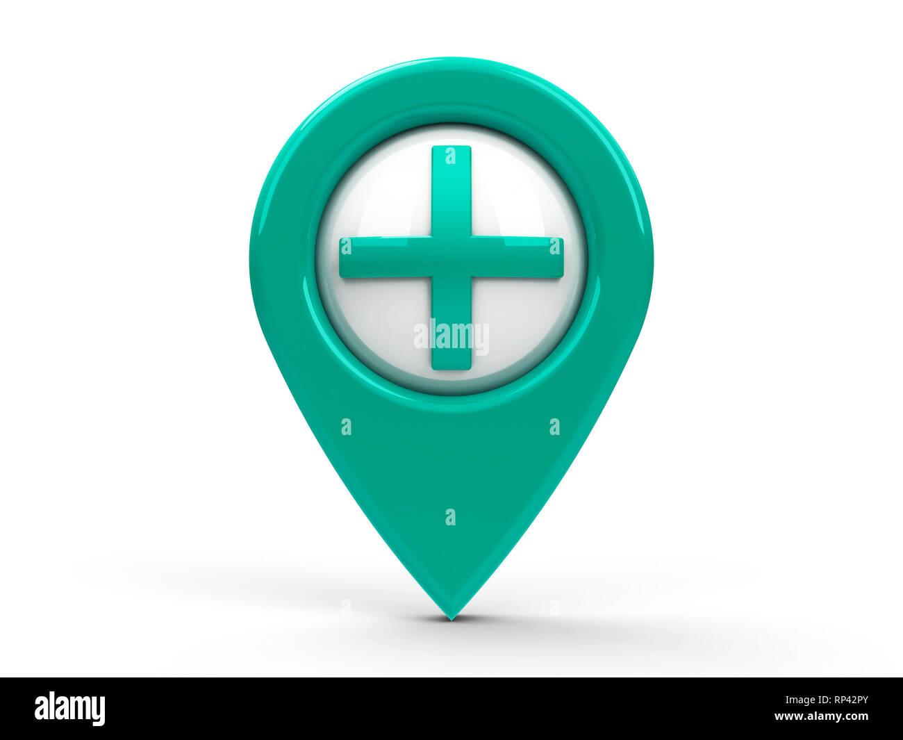 Tisch Hospital Map