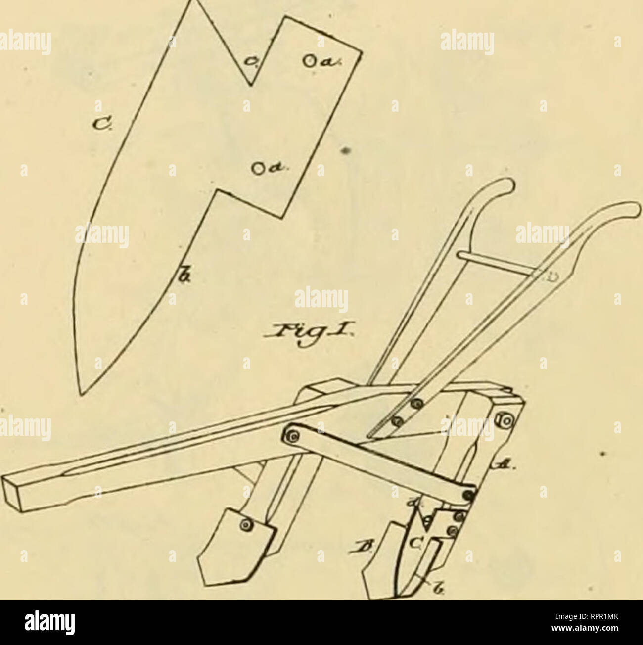 hight resolution of allen s digest of plows with attachments patented in the united states from a d