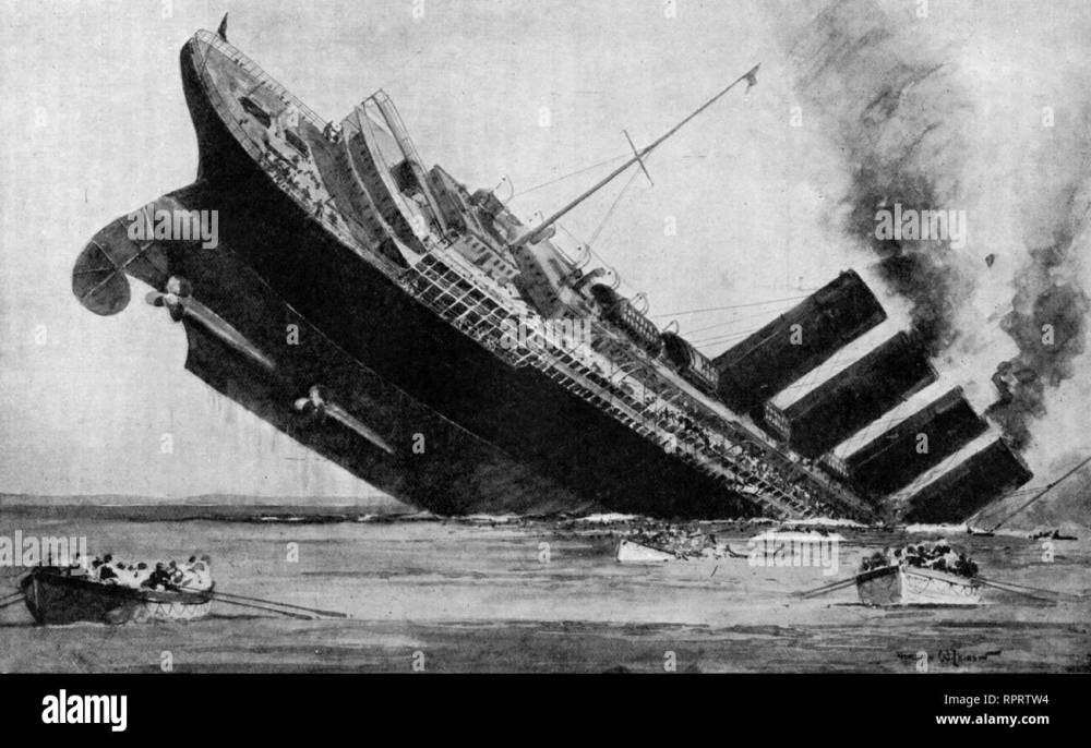 medium resolution of the last of the lusitania may 7th 1915 rms lusitania was a british