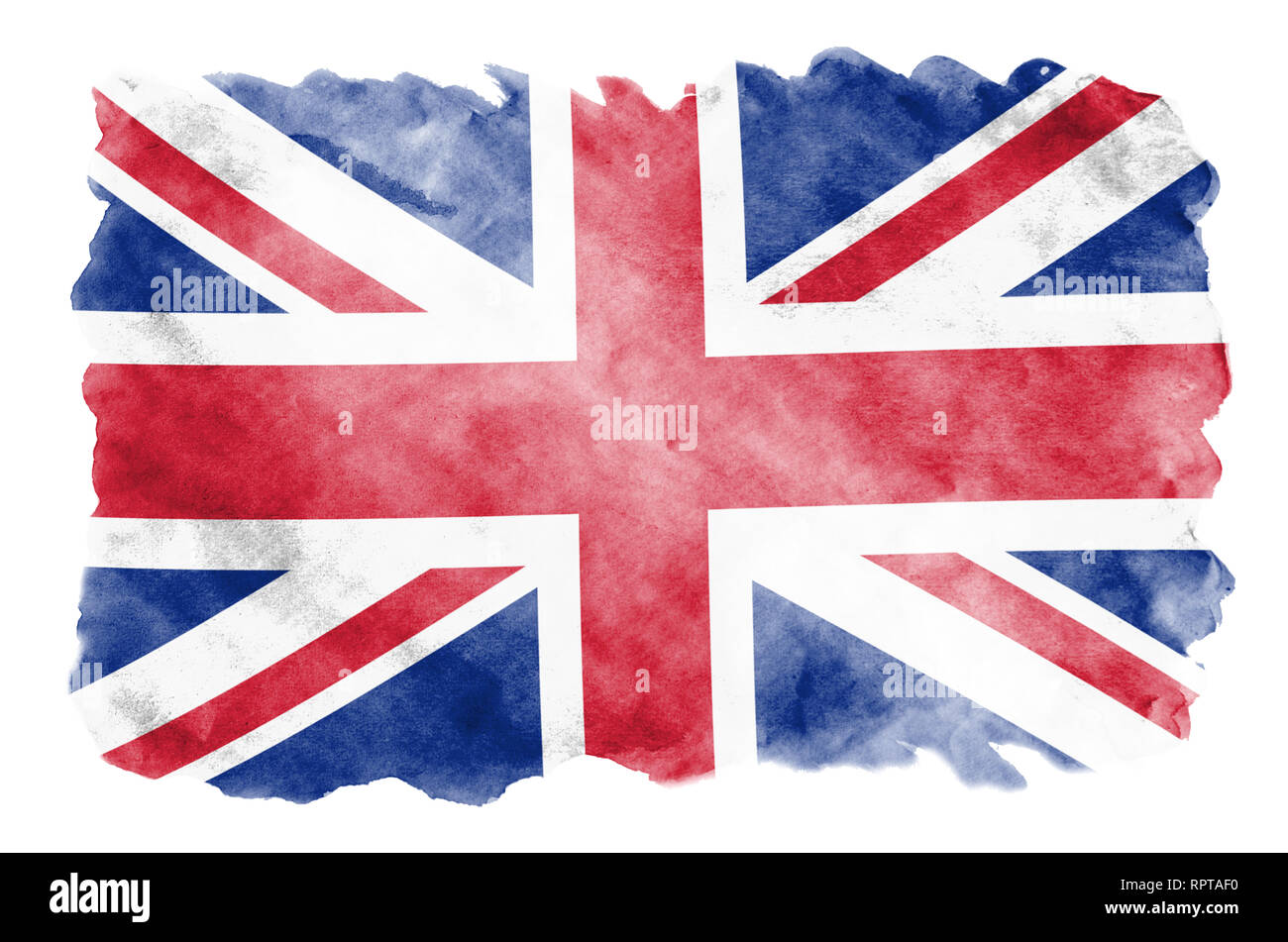 great britain flag is