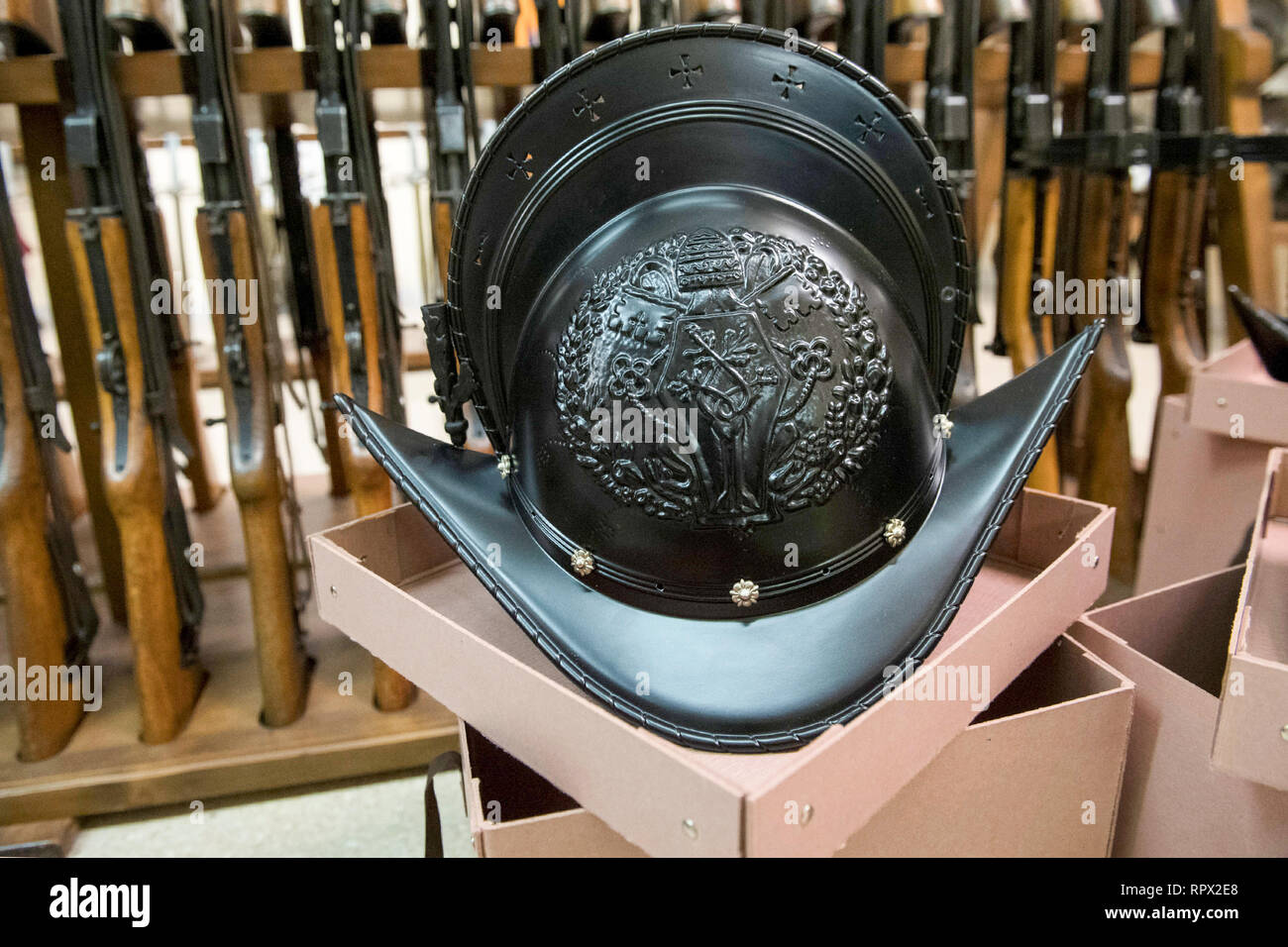 new helmet of the