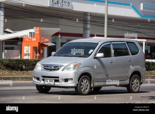 small resolution of chiangmai thailand february 4 2019 private toyota avanza car mini suv car