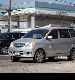 chiangmai thailand february 4 2019 private toyota avanza car mini suv car [ 1300 x 956 Pixel ]
