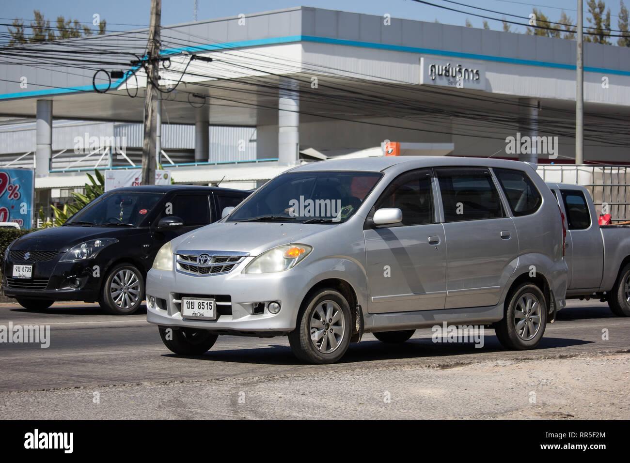 hight resolution of chiangmai thailand february 4 2019 private toyota avanza car mini suv car