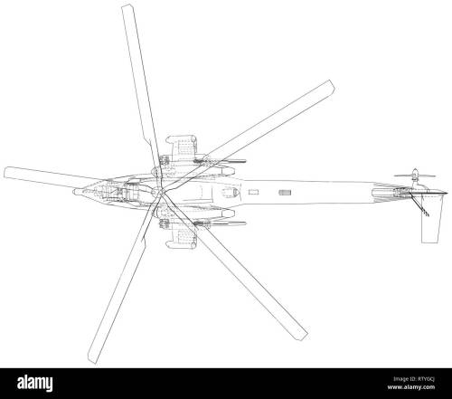 small resolution of blueprint of helicopter vector wireframe concept blue purple created illustration of 3d