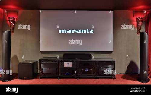 small resolution of miami beach fl february 28 home theater featuring vutec silver star screen parasound amps golden ear speakers oppo player marantz pre amp