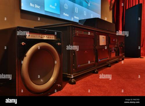 small resolution of miami beach fl february 28 home theater featuring vutec silver star screen parasound amps