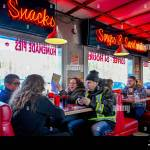 Busy Rocko S Diner Mission British Columbia Canada Where Filming For Pop S Diner In The Tv Series Riverdale Took Place Stock Photo Alamy