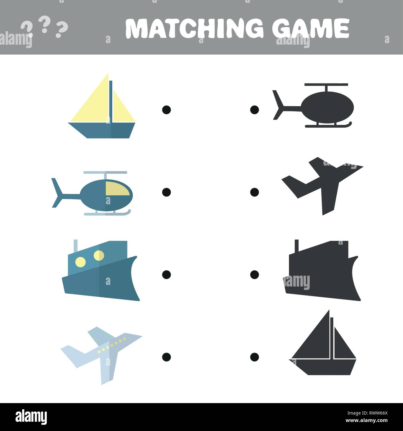 Preschool Worksheet Gallery Preschool Shadow Matching