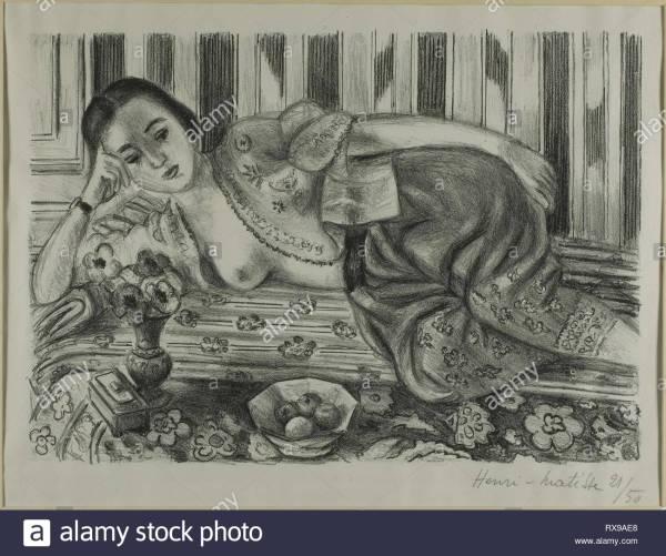 Henri Matisse Odalisque Stock &