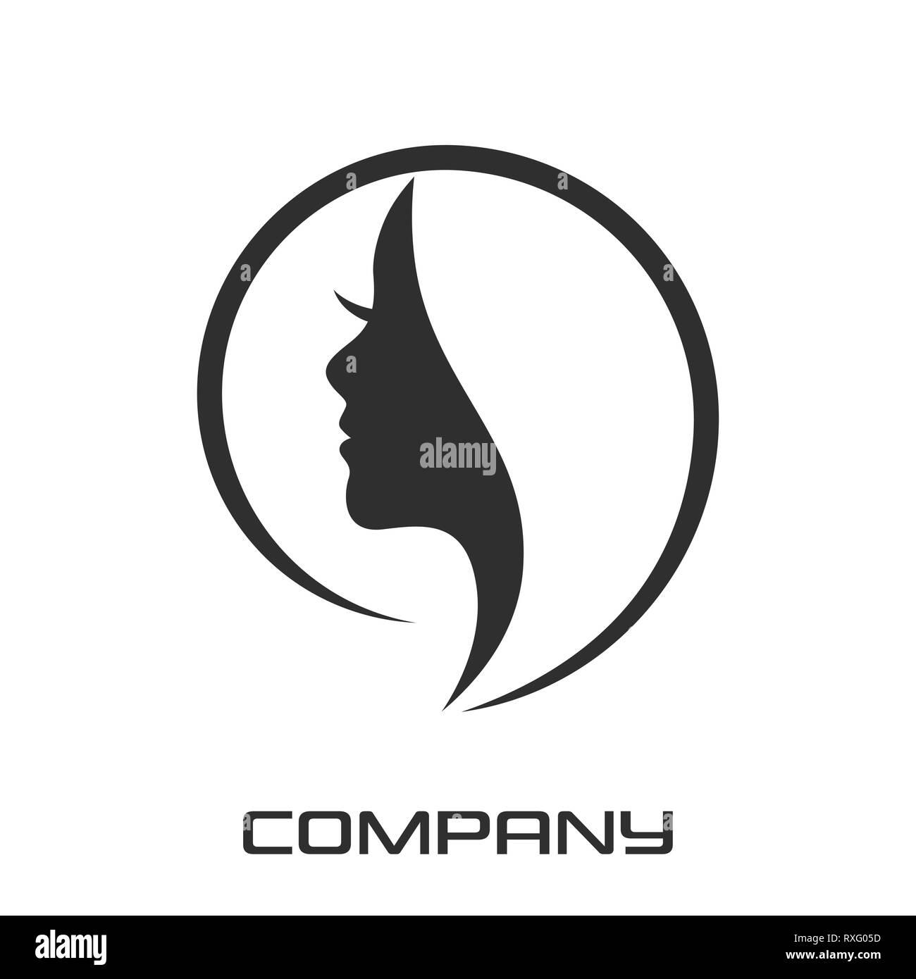 modern beauty logo stock