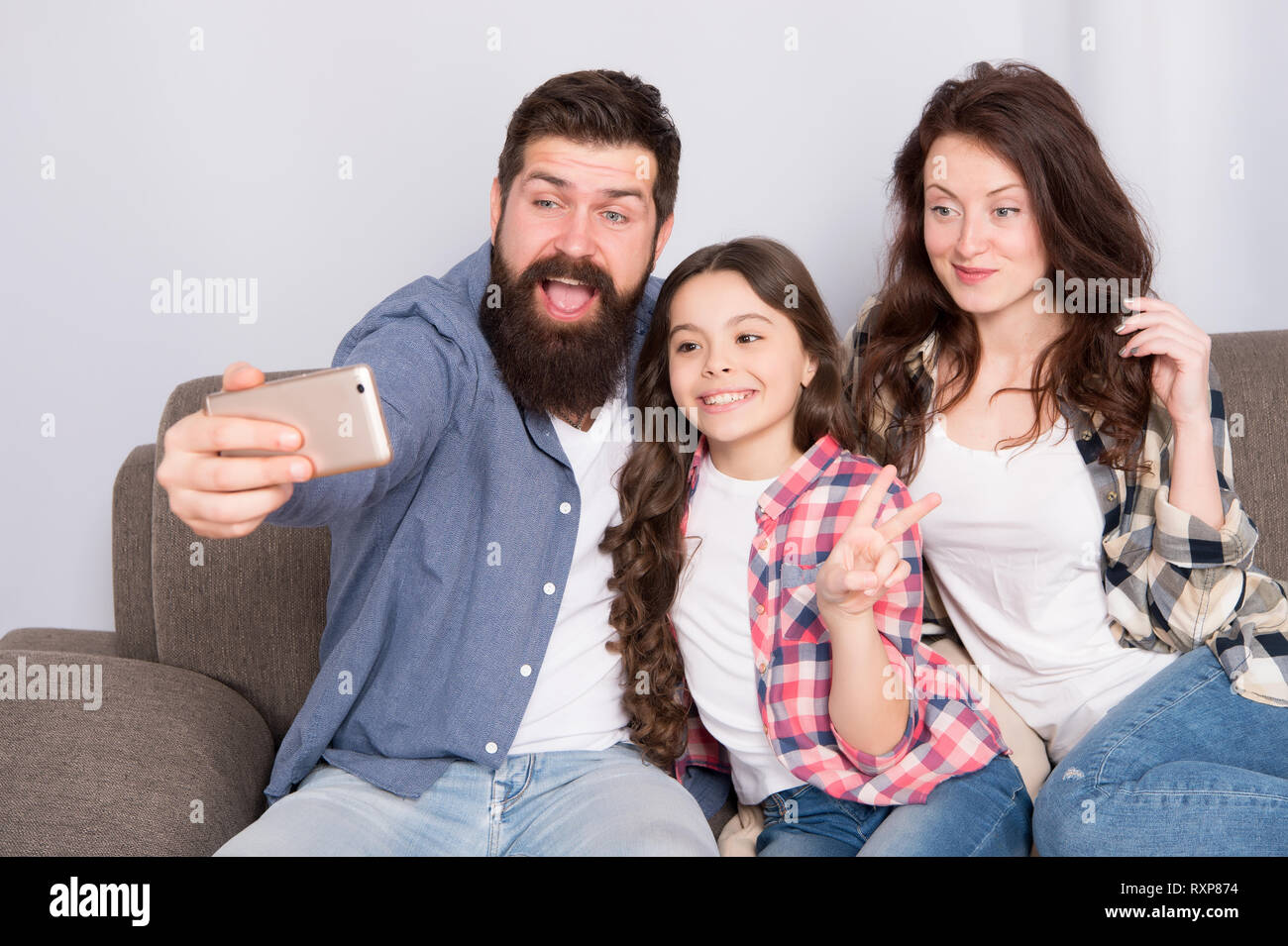use smartphone for selfie