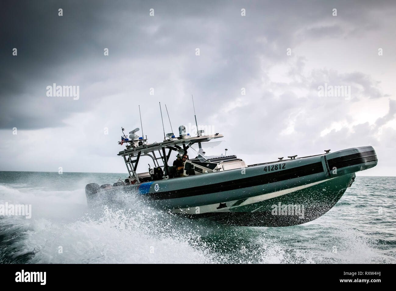 Cbp Marine Interdiction Agent Cover Letter Information Operations Stock Photos Information Operations Stock
