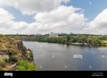 Bay Dnieper River Stock &