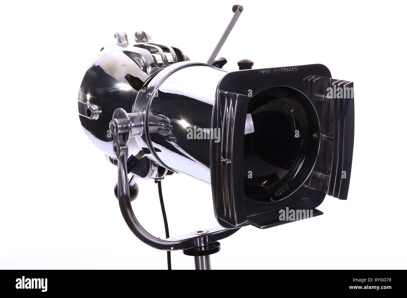 https www alamy com 1950s film and theatre lighting equipment strand electric stage spot light image240694476 html