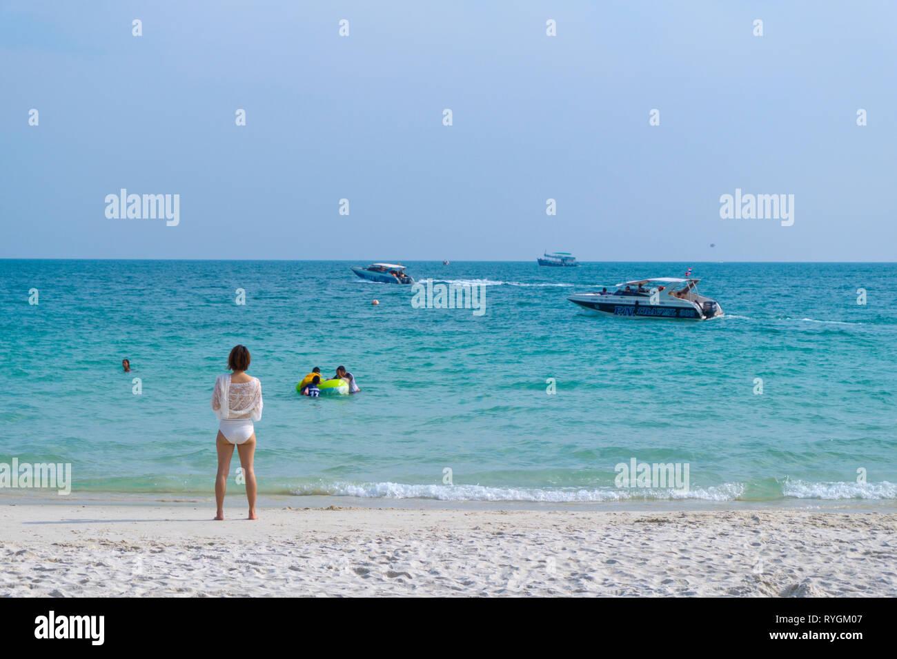 Sai Kaew Beach Ko Samet Thailand Stock Photo 240697415