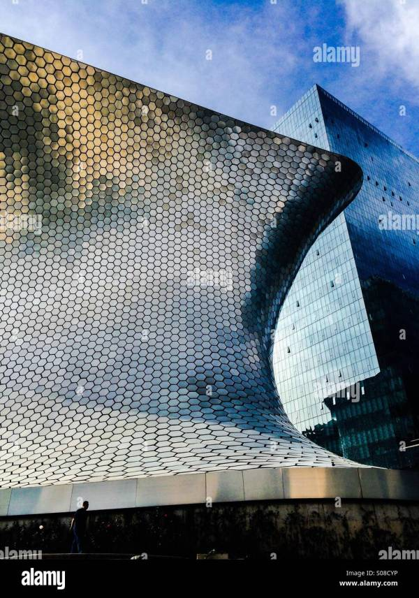 Museum Contemporary Art Mexico Stock &
