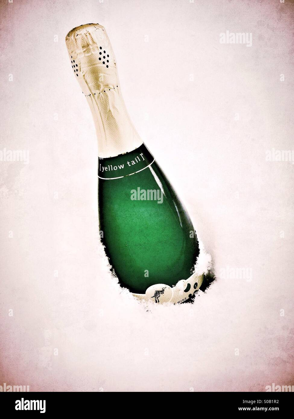 bottle of bubbly sparkling