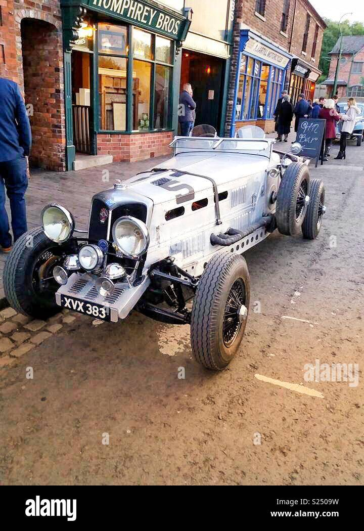 Peaky Blinders Car : peaky, blinders, 1920s, Peaky, Blinders, Night, Stock, Photo, Alamy