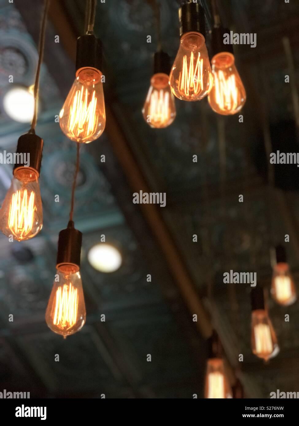 https www alamy com steampunk bar lighting image311174917 html