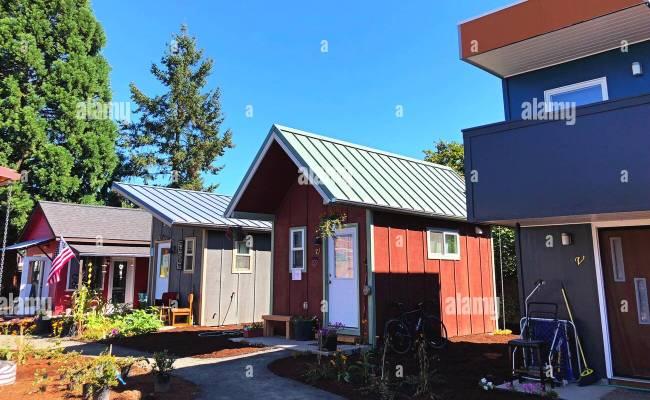 Emerald Village Tiny House Community In Eugene Oregon