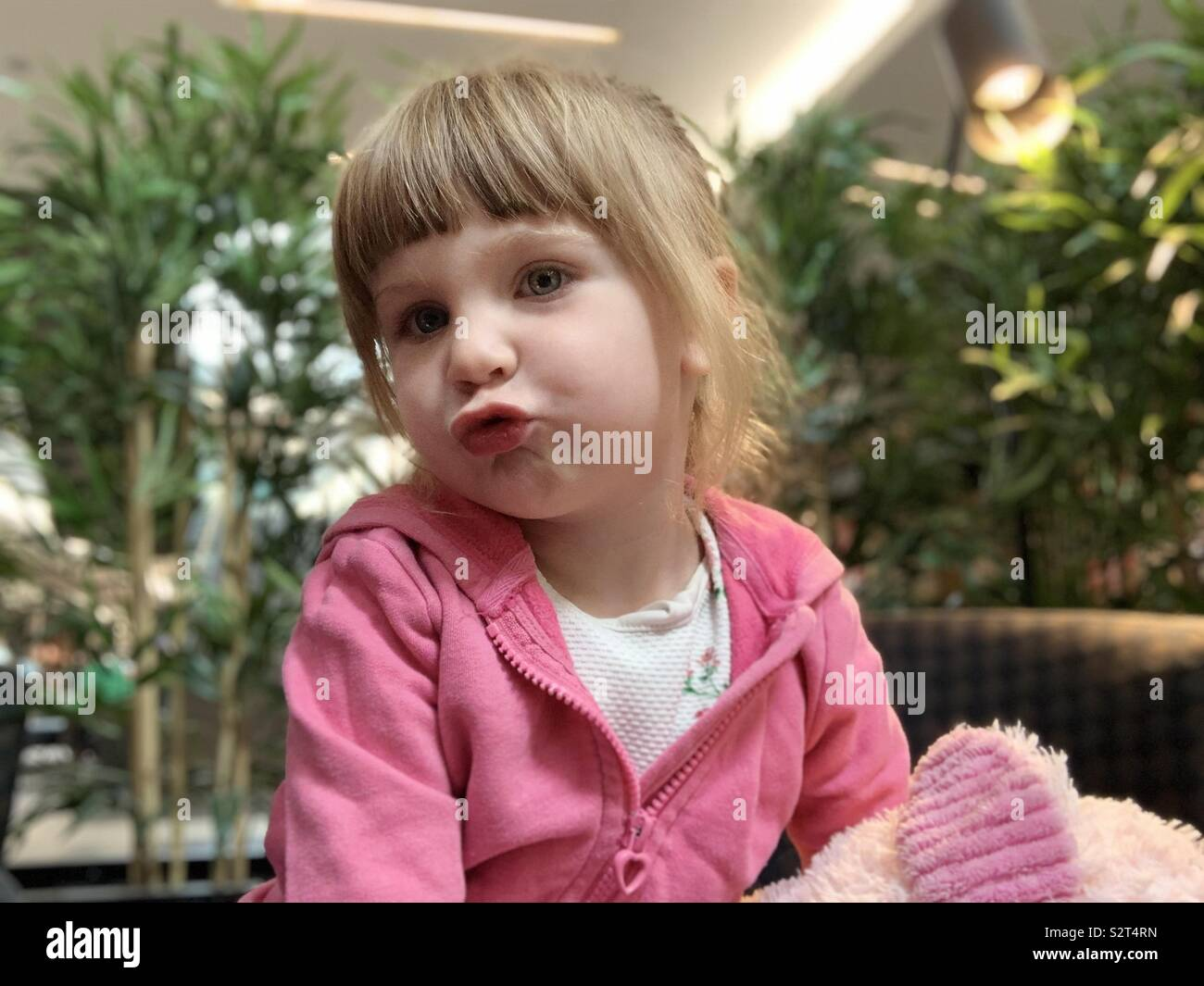 pouting child stock photos