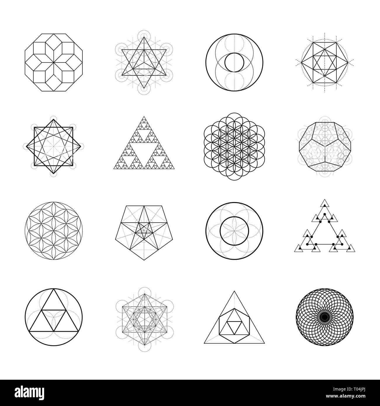 sacred geometry vector design