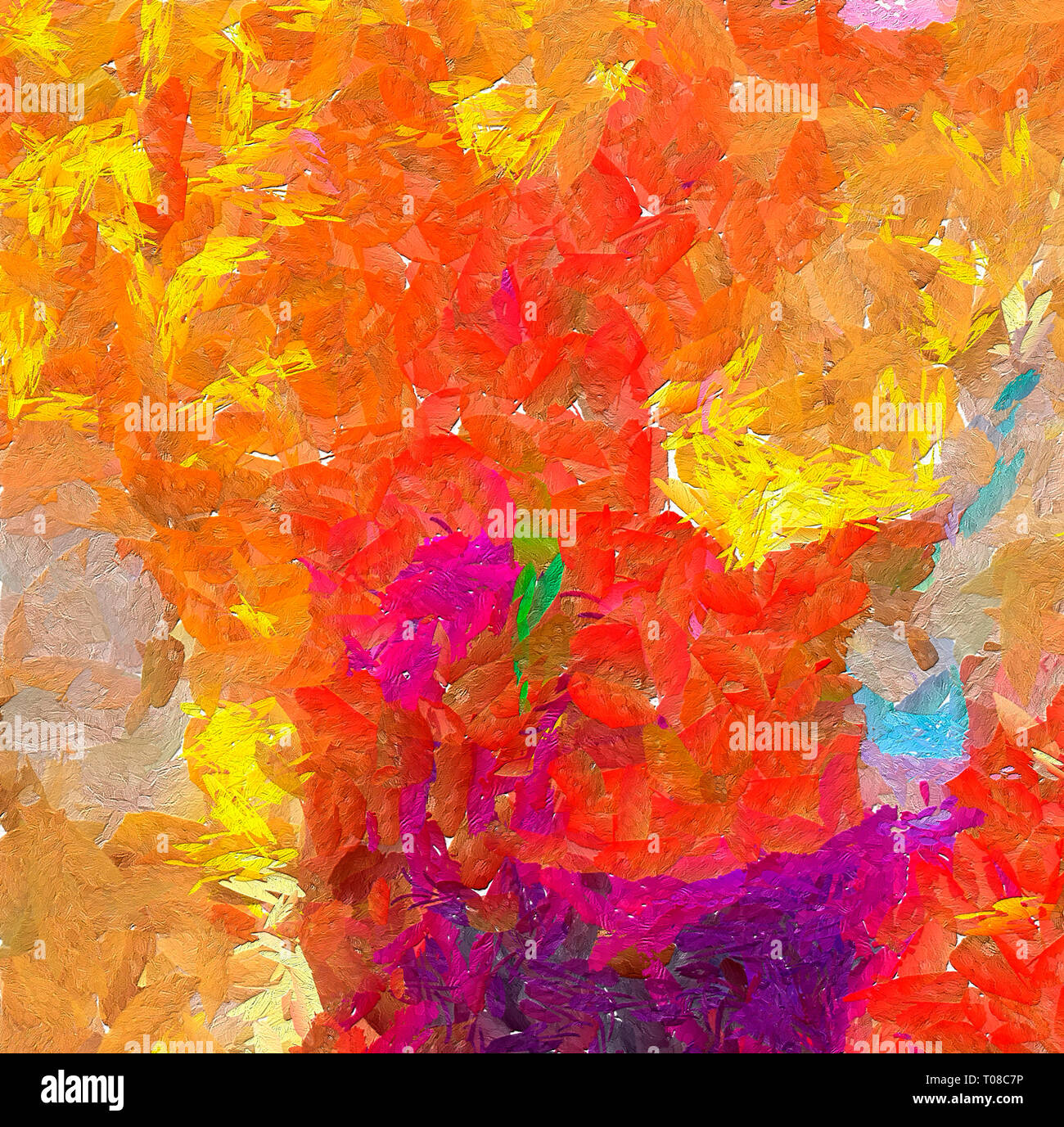 pretty oil painting abstraction