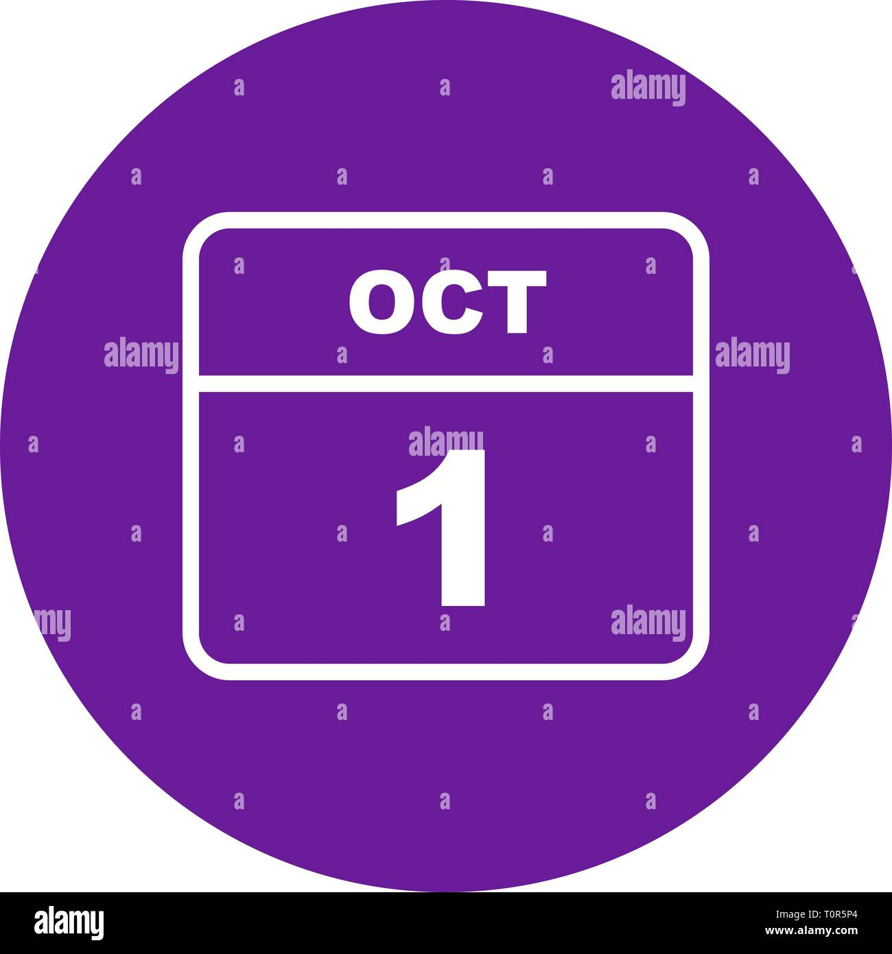october 1st date on